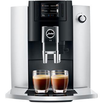 Cafetera Superautomática Jura E6 Plata