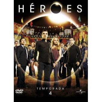 Heroes - Temporada 4 - DVD