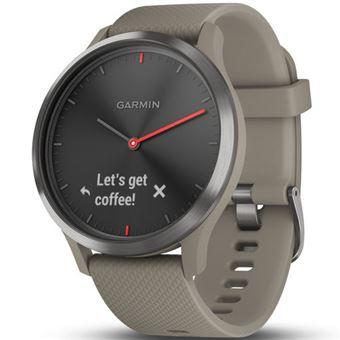 Smartwatch Garmin Vívomove HR Sport Beige/Negro