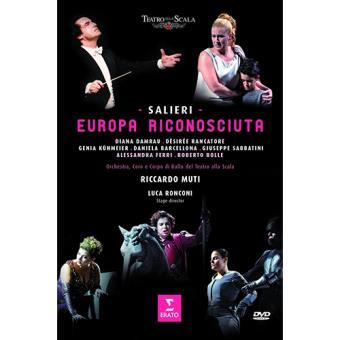Salieri: Europa Riconosciuta 1778 (DVD)