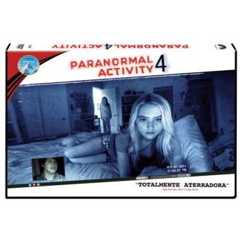 Paranormal Activity 4 - DVD Ed Horizontal