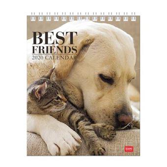 Calendario de mesa 2020 Legami - Best friends