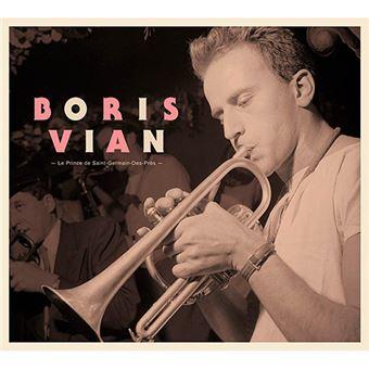 Boris Vian - Le Prince de Saint-Germain-Des-Prés - 4 CD