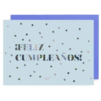 UO Postal - Feliz Cumpleaños, holográfico