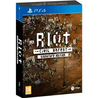 Riot Civil Unrest - Signature Edition PS4