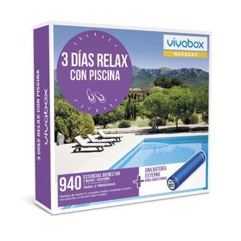 Caja regalo VivaBox Tres días relax con piscina