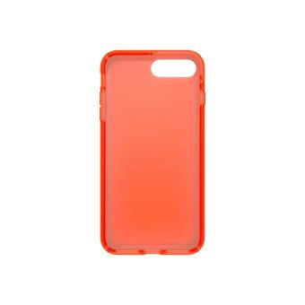 dcc6bdce933 Funda Speck Presidio Clear Neon Edition Naranja para iPhone 7 Plus ...
