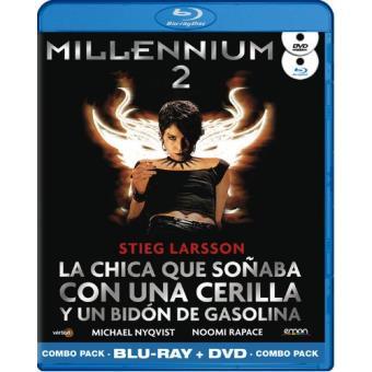 Millennium 2: La chica que soñaba con una cerilla y un bidón de gasolina - Blu-Ray + DVD