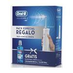 Irrigador dental Oral-B Aquacare + Colutorio