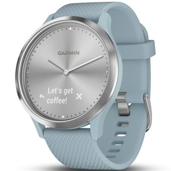 Smartwatch Garmin Vívomove HR Sport Plata/Azul