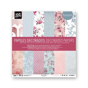 Papeles decorados Busquets Scrap - Romantic