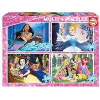 Pack de puzzles Educa - Disney Princess