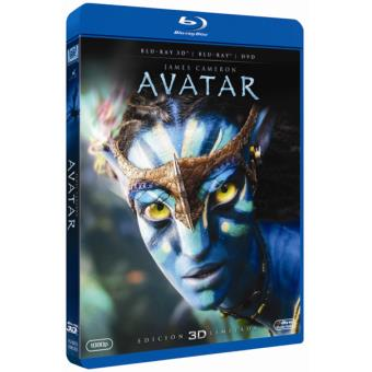 Avatar - Blu-Ray + 3D + DVD