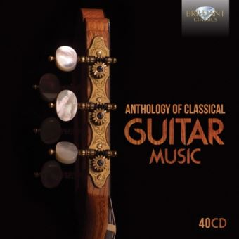 Anthology of Classical Guitar Music (40 CD)
