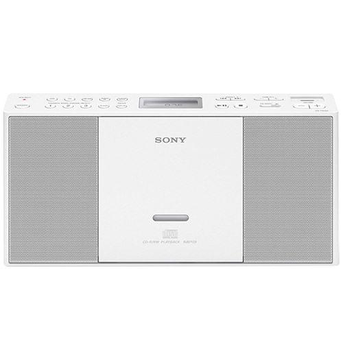 Microcadena Radio CD Sony ZSPE60 blanca