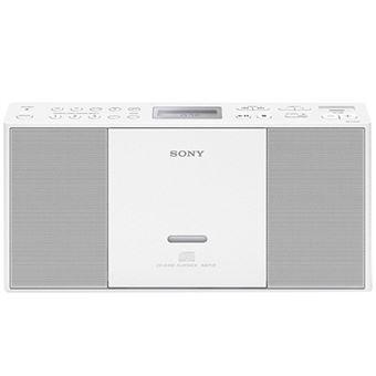 Microcadena Sony Boombox ZS-PE60 Blanco