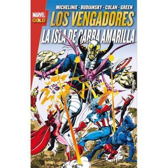 Marvel Gold. Los Vengadores: La Isla de Garra Amarilla