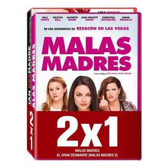 Pack Malas Madres + El gran desmadre - DVD