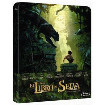El libro de la selva (2016) - Steelbook Blu-Ray