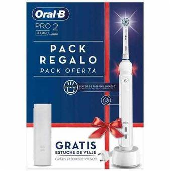 Cepillo eléctrico Oral-B Pro 2500 Blanco + Funda
