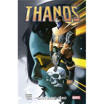 100% Marvel HC. Thanos  4 Santuario Cero