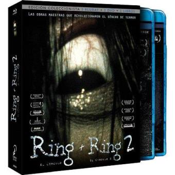 Pack The Ring 1 y 2 -  Ed especial DVD + Blu-Ray + Libro