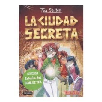 Pack Tea Stilton 3: La ciudad secreta + estuche