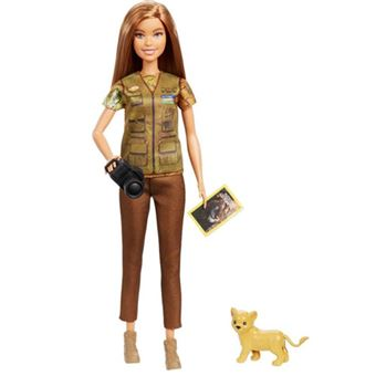 Muñeca Mattel - Barbie Periodista National Geographic