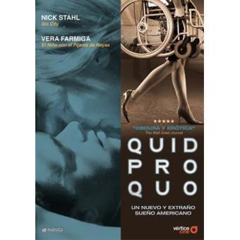 Quid pro quo - DVD