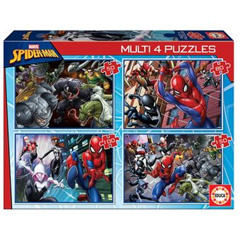 Multi puzzles Educa - Spiderman