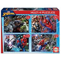 Multi puzzles Educa - Spiderman