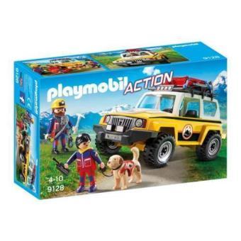 Playmobil Vehículo de rescate de montaña