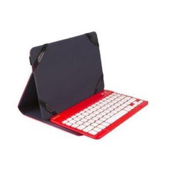 "Funda con teclado SilverHT Universal Gripcase 10,1"" Rojo"