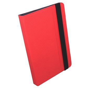 """Funda con teclado SilverHT Universal Gripcase Rojo para tablet 9- 10,1"""""""