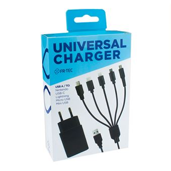 Cargador y cable universal para mando FR-TEC