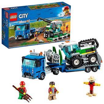 LEGO City Great Vehicles 60223 Transporte de la Cosechadora