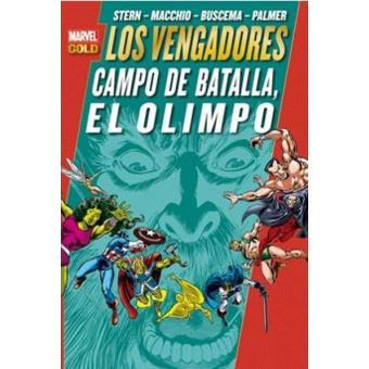 Los Vengadores. Campo de batalla, El Olimpo. Marvel Gold