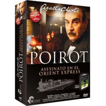 Poirot: Asesinato en el Orient Express + Libro - DVD