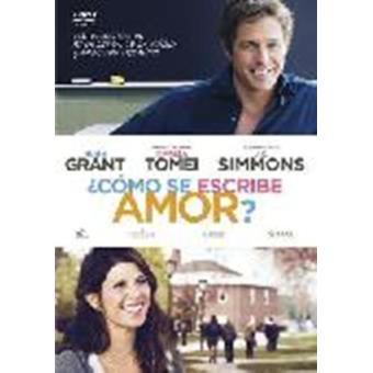 Cómo se escribe amor - DVD
