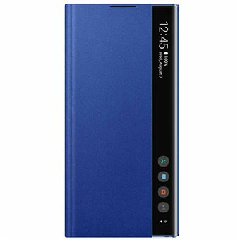 Funda Samsung Clear View Azul para Galaxy Note 10+