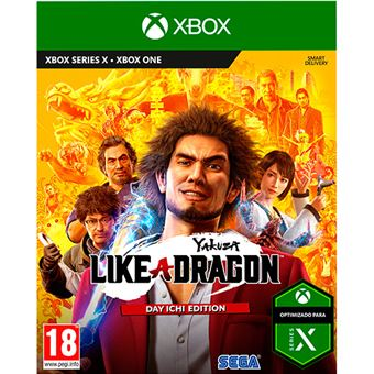 Yakuza like a Dragon Xbox One