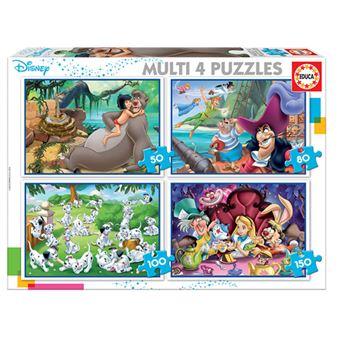 Multi puzzles Educa - Disney Classics