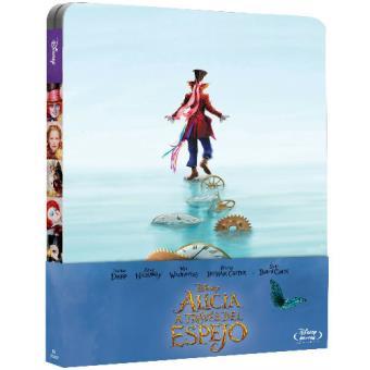 Alicia a través del espejo - Steelbook Blu-Ray