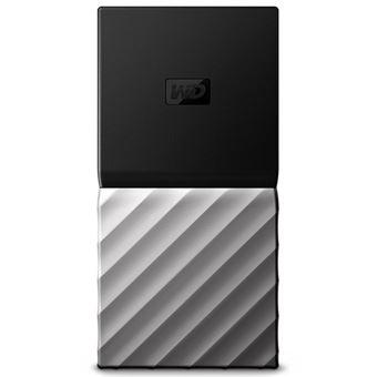 Disco duro portátil SSD WD My Passport 1TB Negro y Gris