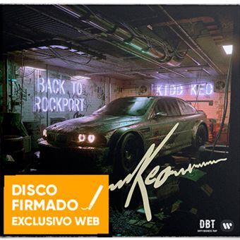 Back To Rockport - Disco firmado + Camiseta negra Talla XL