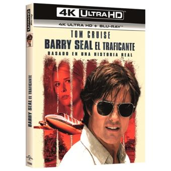 Barry Seal. El traficante - UHD + Blu-Ray