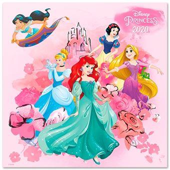 Calendario de pared 2020 Erik 30x30 multilingüe Walt Disney Princess Classics