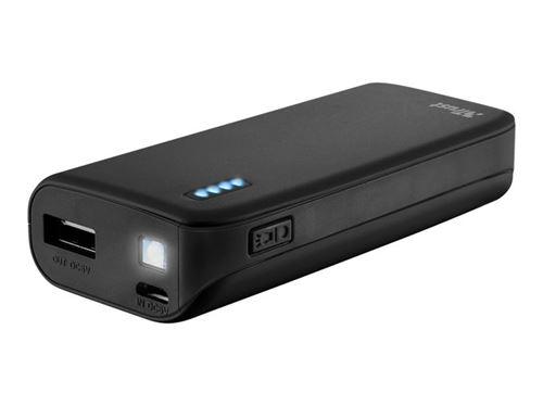 PowerBank Trust Primo  Cargador portátil  USB 4400 mAh Negro