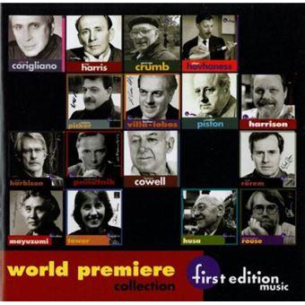 17 world premiere recordi