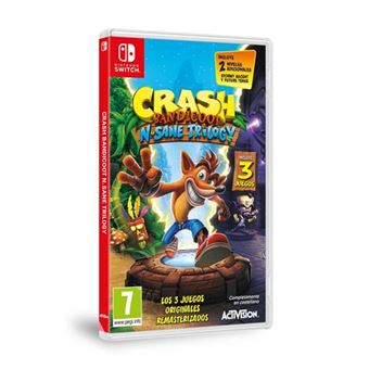 Crash Bandicoot N-Sane Trilogy Nintendo Switch
